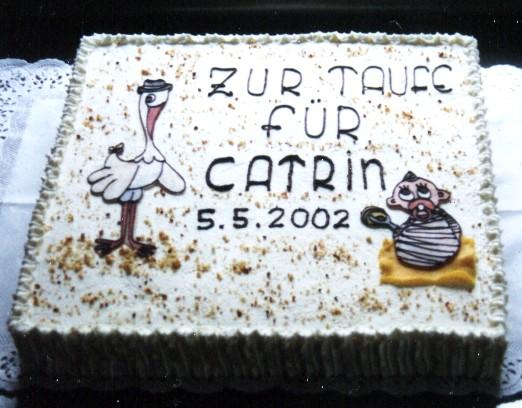 Torten Torte Taufe Baby Storchjpg